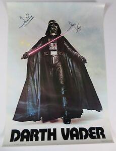 David-Prowse-STAR-WARS-DARTH-VADER-Signed-Autograph-20x28-Poster-Beckett-BAS
