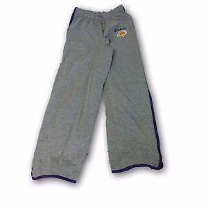 8e61d5ae384 Los Angeles Lakers Gray Color Women s NBA Pants Size Large
