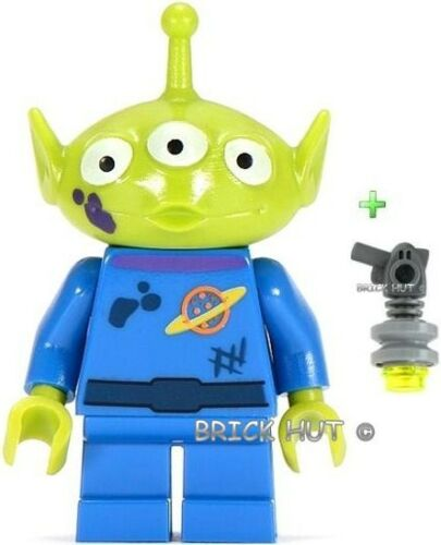 TEMP HIGH PRICE ! PURPLE SPLOTCH ALIEN FIGURE LEGO TOY STORY FREE RAY GUN