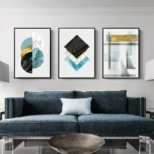 Geometric Marble Wall Art Home Decor