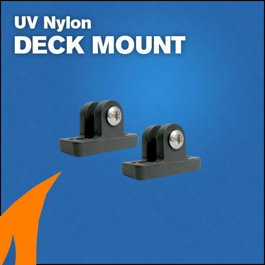 2 x Bimini Deck Mount fittings boat canopy