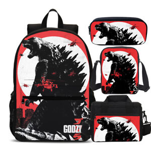 Image Is Loading S 3 Zilla Monster Backpack Insulated Lunch