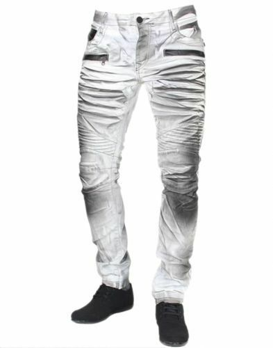 Jeans - Hose - coole Waschung - grey
