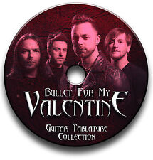 BFMV BULLET FOR MY VALENTINE ROCK GUITAR TABS TABLATURE SONG BOOK SOFTWARE CD