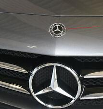 orig Mercedes Benz Emblem Stern Abdeckung Kappe mit Halter schwarz E C Klasse