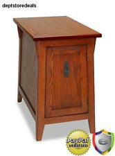 Mission Style End Table Night Stand Arts Crafts Living Room Furniture Wood Top