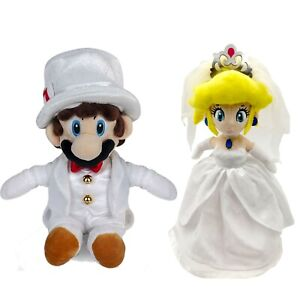 Toys Games 2x Super Mario Odyssey Bowser Peach Wedding