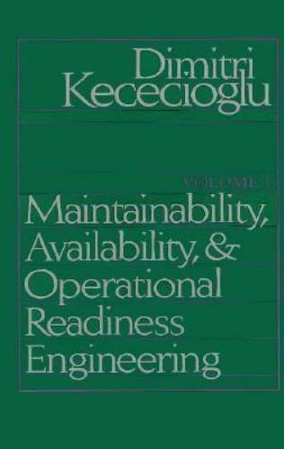 Maintainability, Availability and Operational Readiness Engineering Handbook [Ma