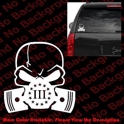 3 Percenter Vinyl Decal Windows Bumper Sticker 3/% 3 Percent Car Outdoors