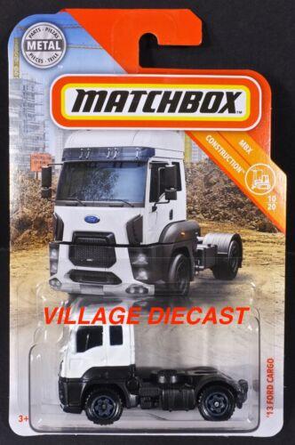 2019 MATCHBOX #28/'13 Ford Cargo Blanc//MOC