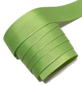 "5 yards Mint green 3//8/"" grosgrain ribbon by the yard DIY hair bows"