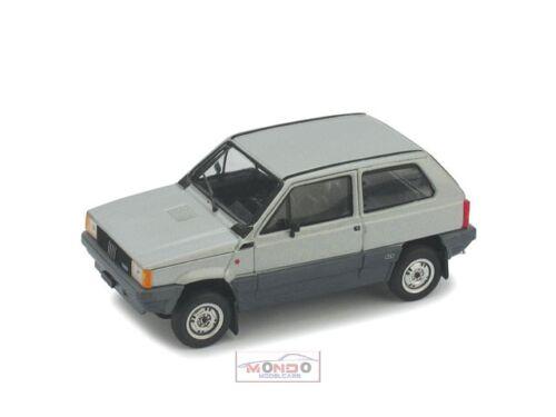 Fiat Panda 4X4 1983 Grigio Metall Brumm 1:43 R441-02 Modellino Auto Diecast