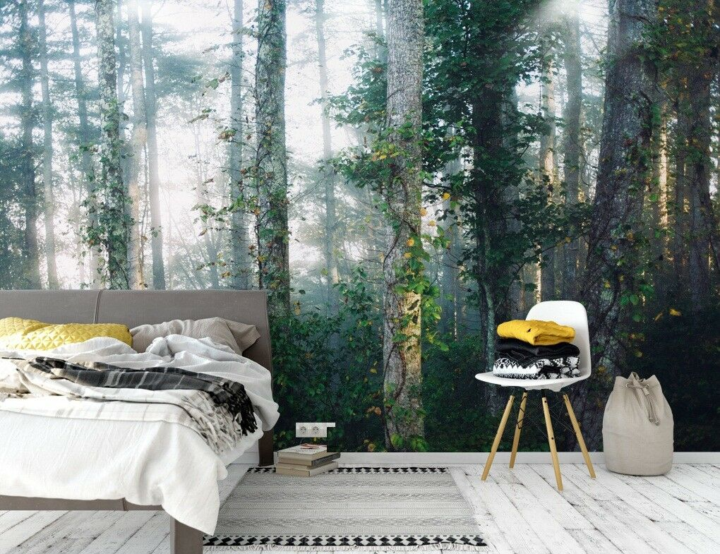 3D Nature Grün 84 Wall Paper Exclusive MXY Wallpaper Mural Decal Indoor Wall AJ