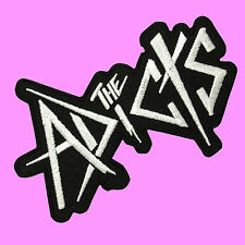 The Adicts ADX Punk Rock Music Band Embroidered Iron On Patch