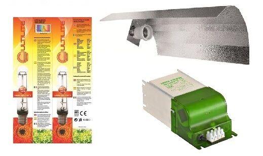 Kit illuminazione indoor coltivazione HPS 600W agro crescita fioritura growroom-