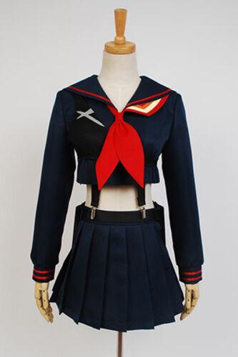 KILL La KILL Ryuko Ryuuko Matoi Senketsu Cosplay Costume Outfit Uniform Dress