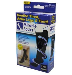 Miracle-Socks-Anti-Fatigue-Compression-Socks-Black