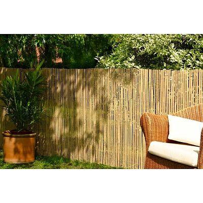 Bamboo Slat Fencing Screening Rolls for Garden Outdoor Privacy - Best Artificial