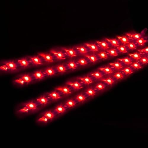 2//4//10//20Pcs 30CM 5050 12 LED Flexible Strip Light Waterproof Car Truck Boat 12V