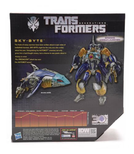 Transformers Generations IDW Voyager Class SKY-BYTE 30th Anniversary Hot