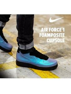 8c77d8ee879 Nike Air Force 1 Foamposite Cup Light Carbon Multi-COLOR AH6771 002 ...