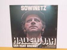 LP - KURT SOWINETZ - HALLELUJAH DER HUAT BRENNT