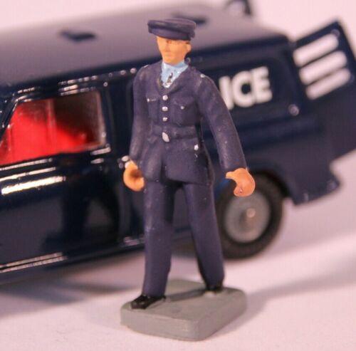 reproducción-Pintado Corgi 448 policía Mini Van Set-Policía figura