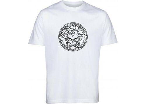 Dragon Ball z Vegeta Versace Mens womens unisex t shirt