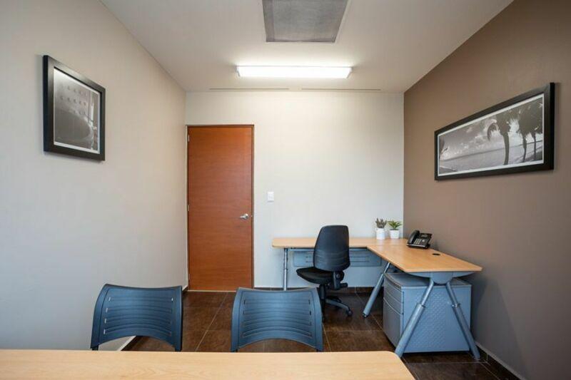 Oficina amueblada en Santa Fe para 1 a 3 personas