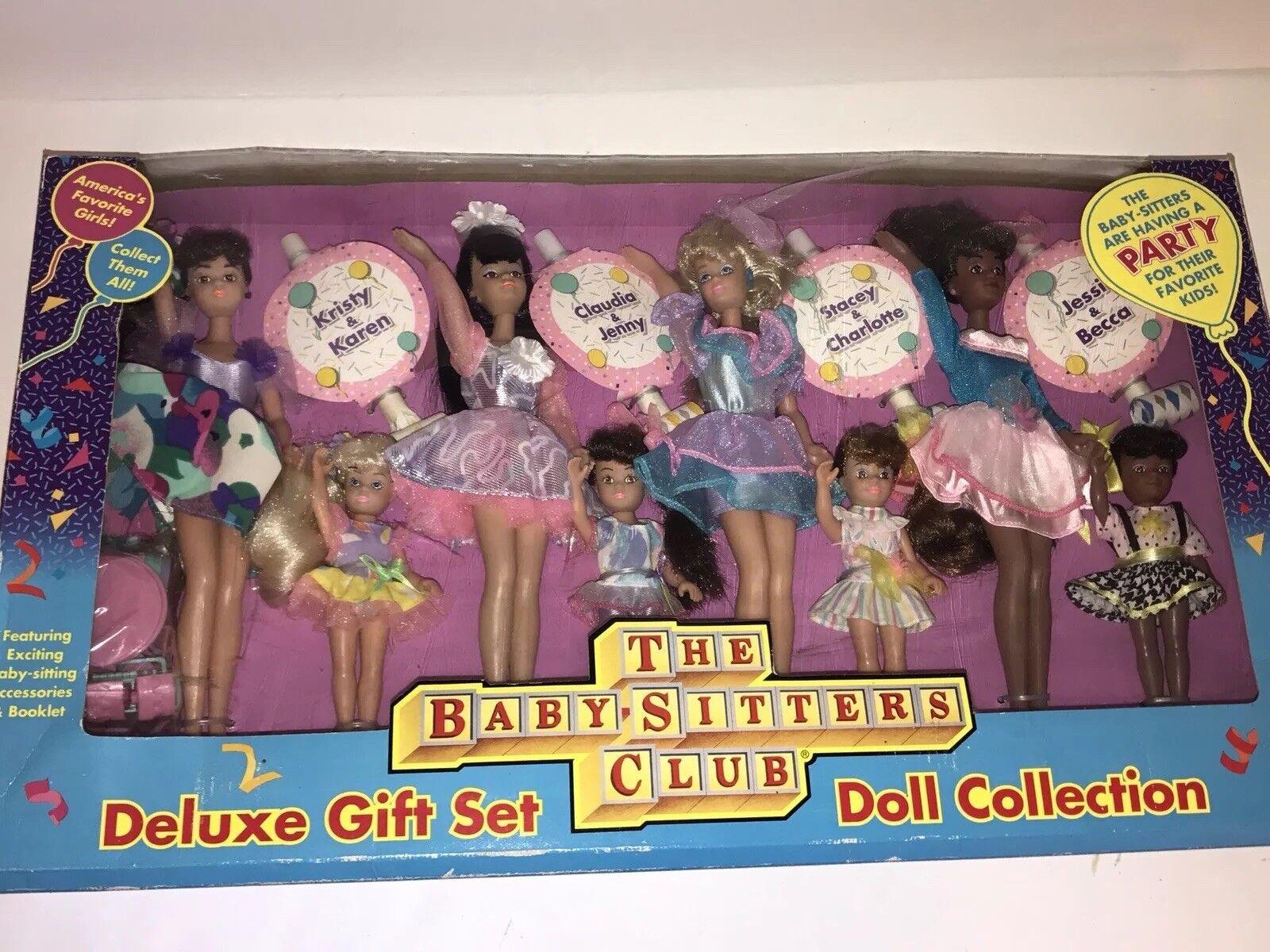 El conjunto de Regalo de Lujo Bebé niñeras Club Club Club Muñecas Colección 1992 Remco En Caja  ofrecemos varias marcas famosas