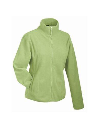 XXL James /& Nicholson Damen Fleece Sweatjacke Sweatshirt Pullover Shirt S