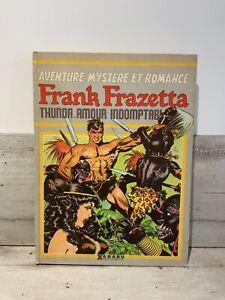 Aventure-mystere-et-romance-Frank-Frazetta-Thunda-amour-indomptable-Humanoide