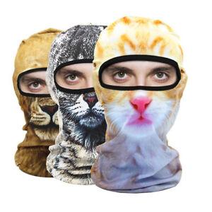 Nuevo-3D-Animal-Sombrero-De-Esqui-Ciclismo-Bicicleta-al-Aire-Libre-Pasamontanas-Mascara-facial
