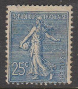 France-1903-25c-Blue-Sower-stamp-M-M-SG-318