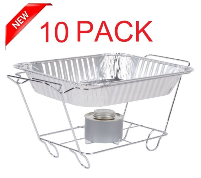 Chafing Dish Rack Gorgeous 60 Pack Buffet Chafer Food Warmer Wire Frame Stand Rack Half Size