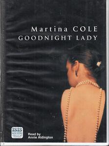 Goodnight-Lady-Martina-Cole-18-Cassette-Audio-Book-Unabridged-Crime-Thriller