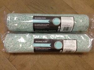 2 X 12 Hamilton Perfection Microfibre Rouleau Peinture Medium Pile