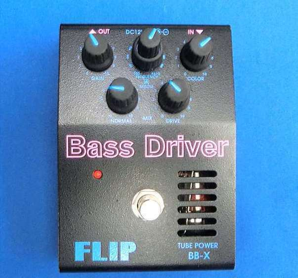 Used  Guyatone FLIP BB-X Bass Driver Valve Tube Effects Pedal Made in Japan