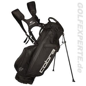 COBRA-golf-Uomo-Impermeabile-Dry-Tech-STAND-BORSA-NERO-Nero