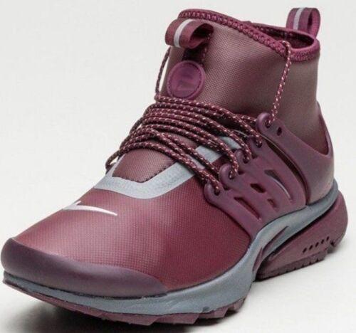 Nike da donna da 5 taglia Scarpe Utility Mid corsa colore 5 ginnastica Presto bianco da nS77z8