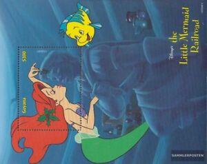 Neuf Avec Gomme Originale 1999 Walt Disney Ze Guyana Block592 complète Edition