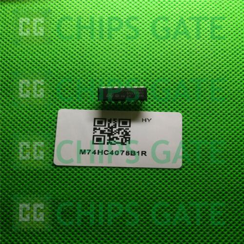 7PCS M74HC4078B1R IC GATE NOR//OR 8-INPUT 14-DIP ST