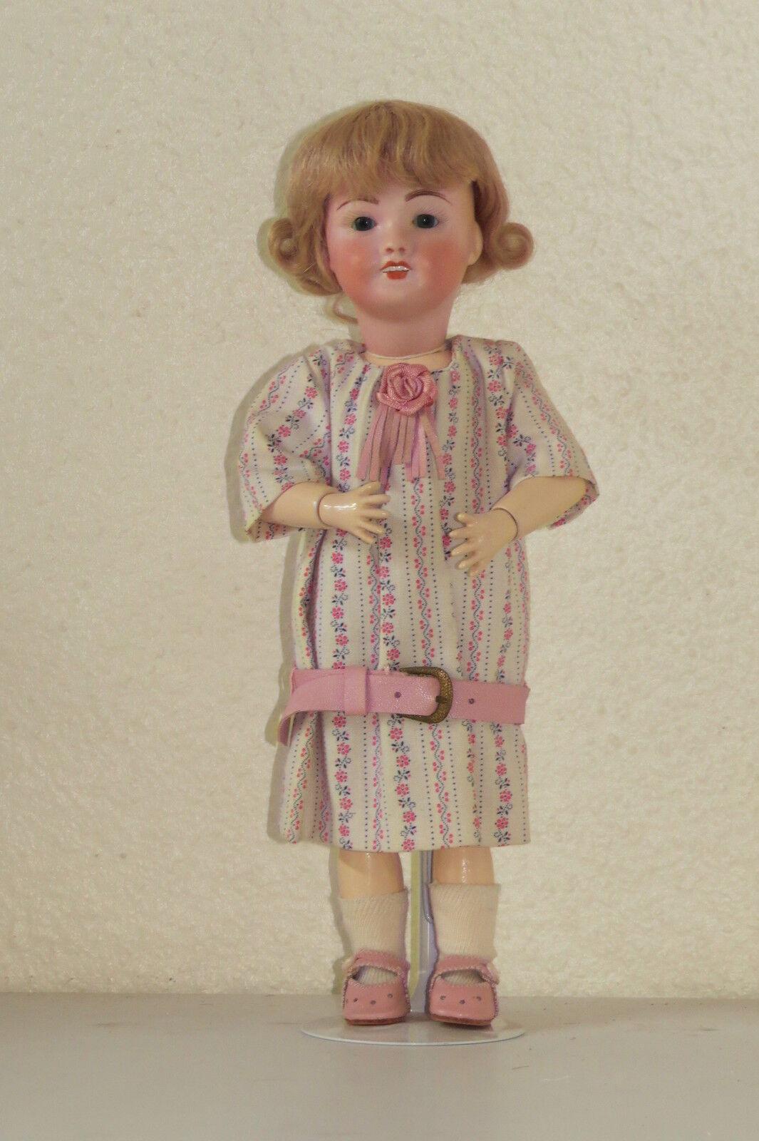 azulette 301 Ref   D 29 cm Muñeca Antigua Reproducción Antique Doll