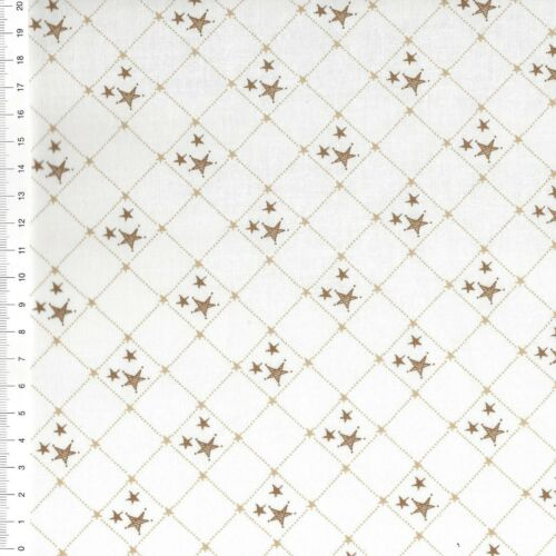 "25 x 110cm patchwork de tela-navidad € 16,00//m /""Stars/"""