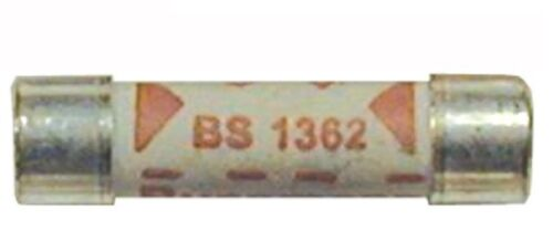 NEW pack of 5 x 10 AMP household plug fuse fuses plug top