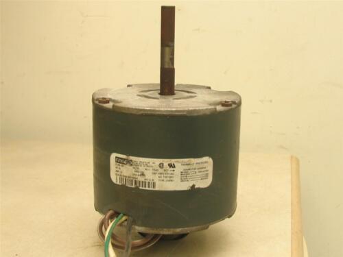 FASCO 7187-0252 Condenser Fan Motor 1//5HP 1050RPM 1PH 1.5A 208//230V