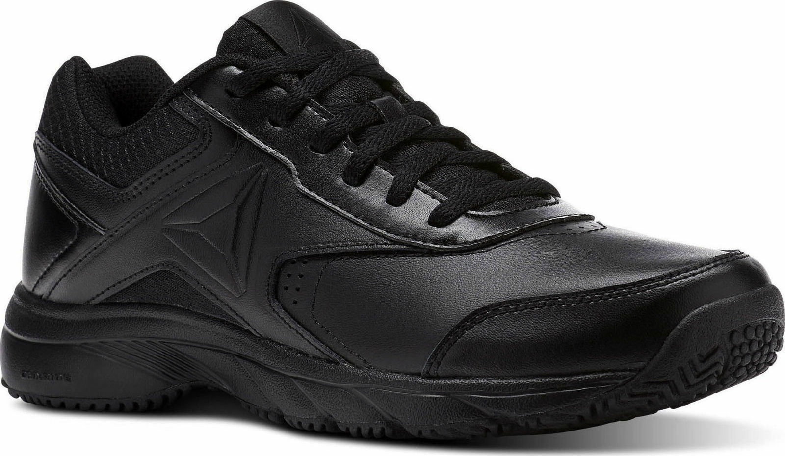 Reebok Women shoes Work N Cushion 3.0 Walking Black Slip & Oil Resistant BS9527