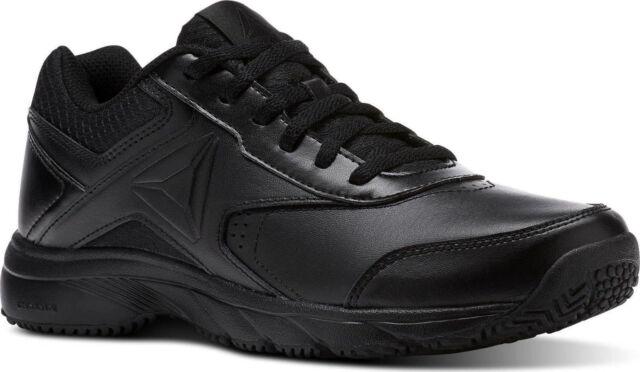 Reebok Herren Schuhe Arbeit n Kissen 3.0 Wandern Schwarz Slip & Ölbeständig