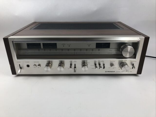 Pioneer SX-780 Vintage AM/FM Stereo Receiver.  Serviced, LEDS.