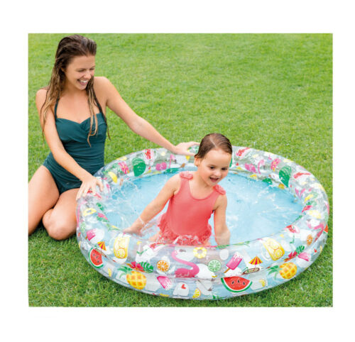 Intex Just So Fruity Paddling Pool Swimming Pool Kids Garden Fun 1.22m x 25cm